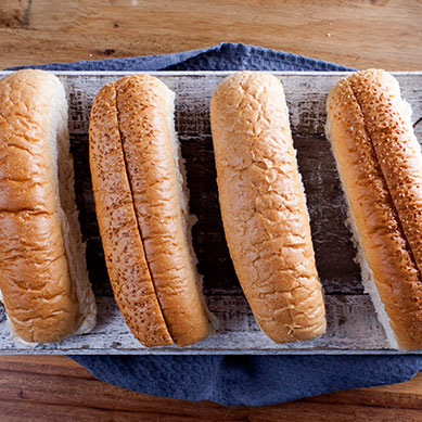 Ex-Long Hot Dog Rolls